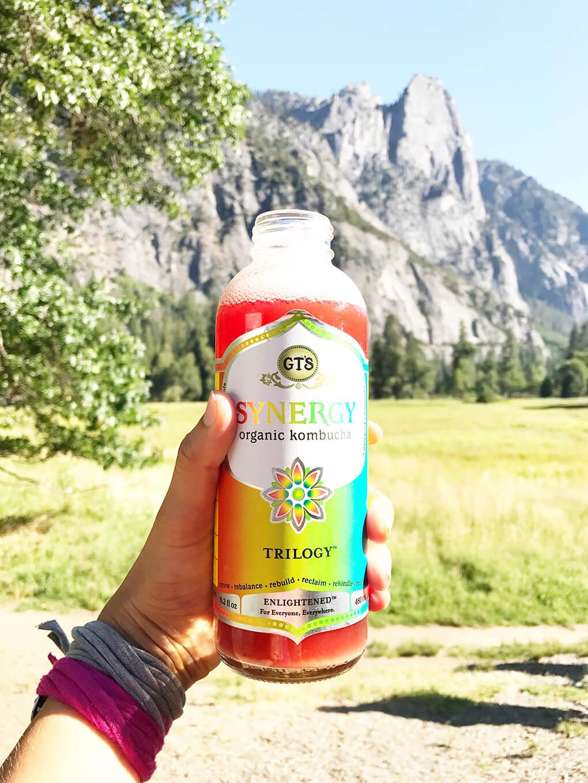 Hiking Yosemite sarahkayhoffman.com GT's Kombucha