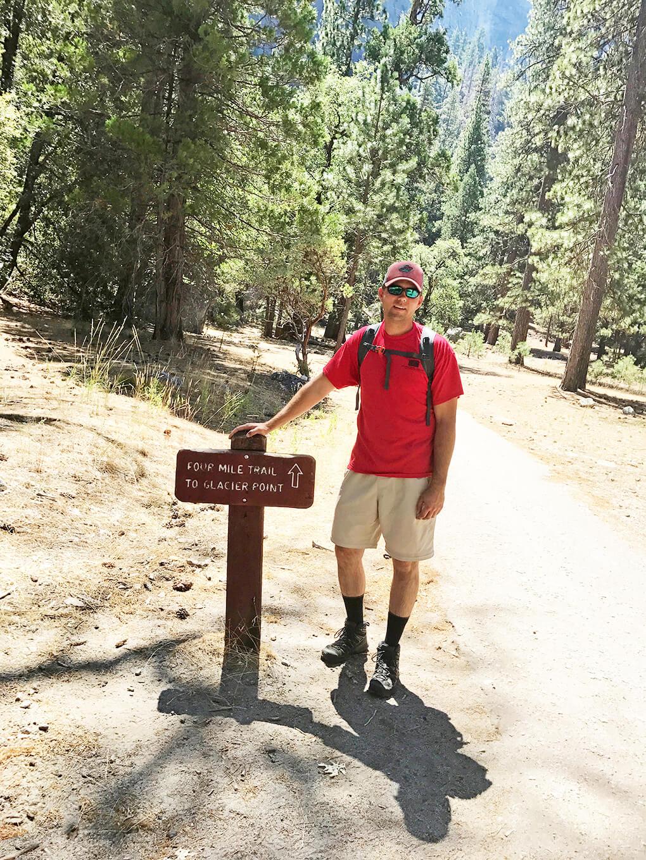 Hiking Yosemite sarahkayhoffman.com JJ 4-mile hike