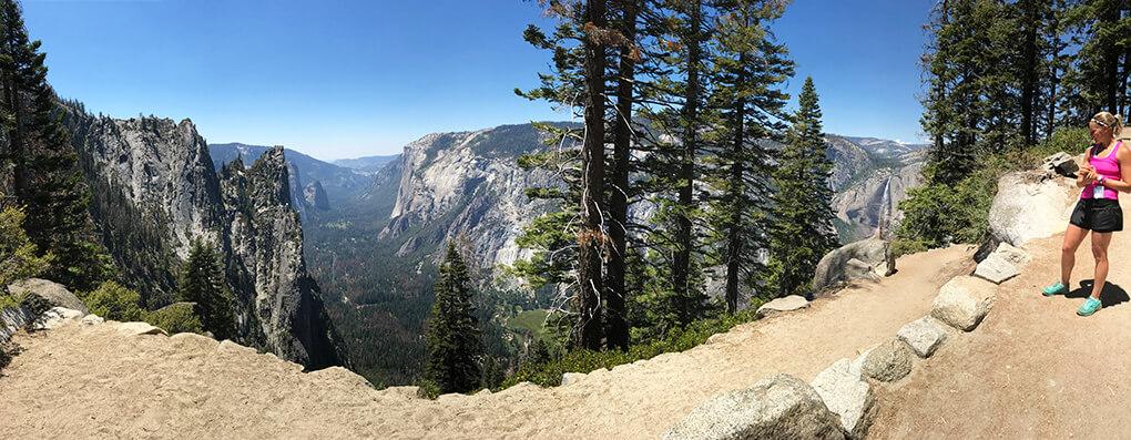 Hiking Yosemite sarahkayhoffman.com Panoramic