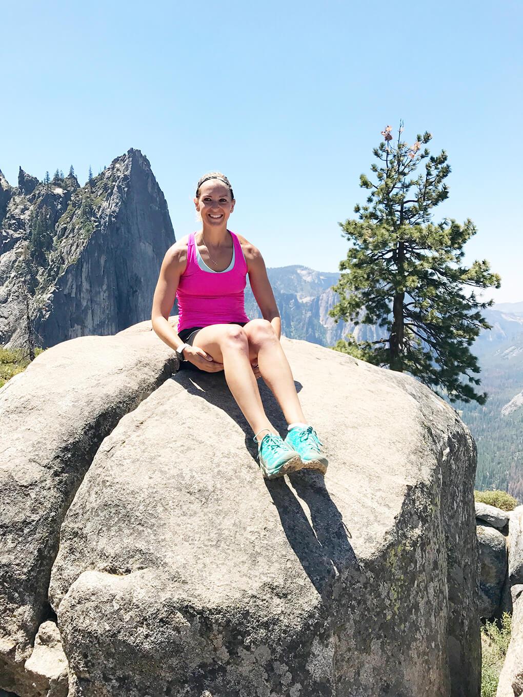 Hiking Yosemite sarahkayhoffman.com SKH first stop