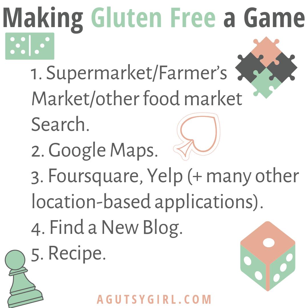Making Gluten Free a Game via A Gutsy Girl agutsygirl.com #gfree #glutenfree #guthealing #celiac