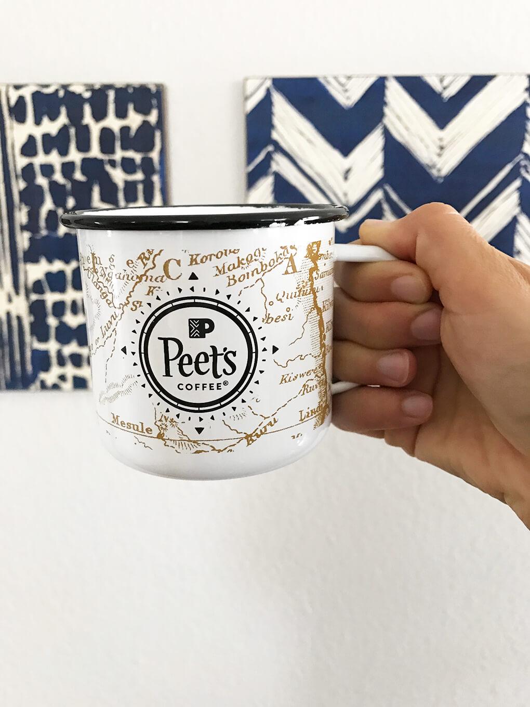 My Favorites Issue 11 sarahkayhoffman.com Peets Coffee Mug