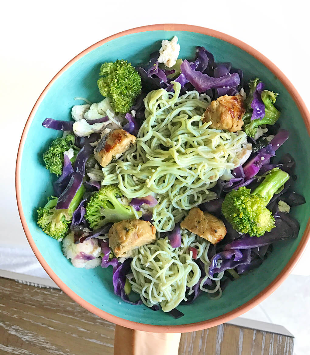 My Favorites Issue 12 sarahkayhoffman.com Lotus Foods Jade Pearl Rice Ramen Noodle Bowl