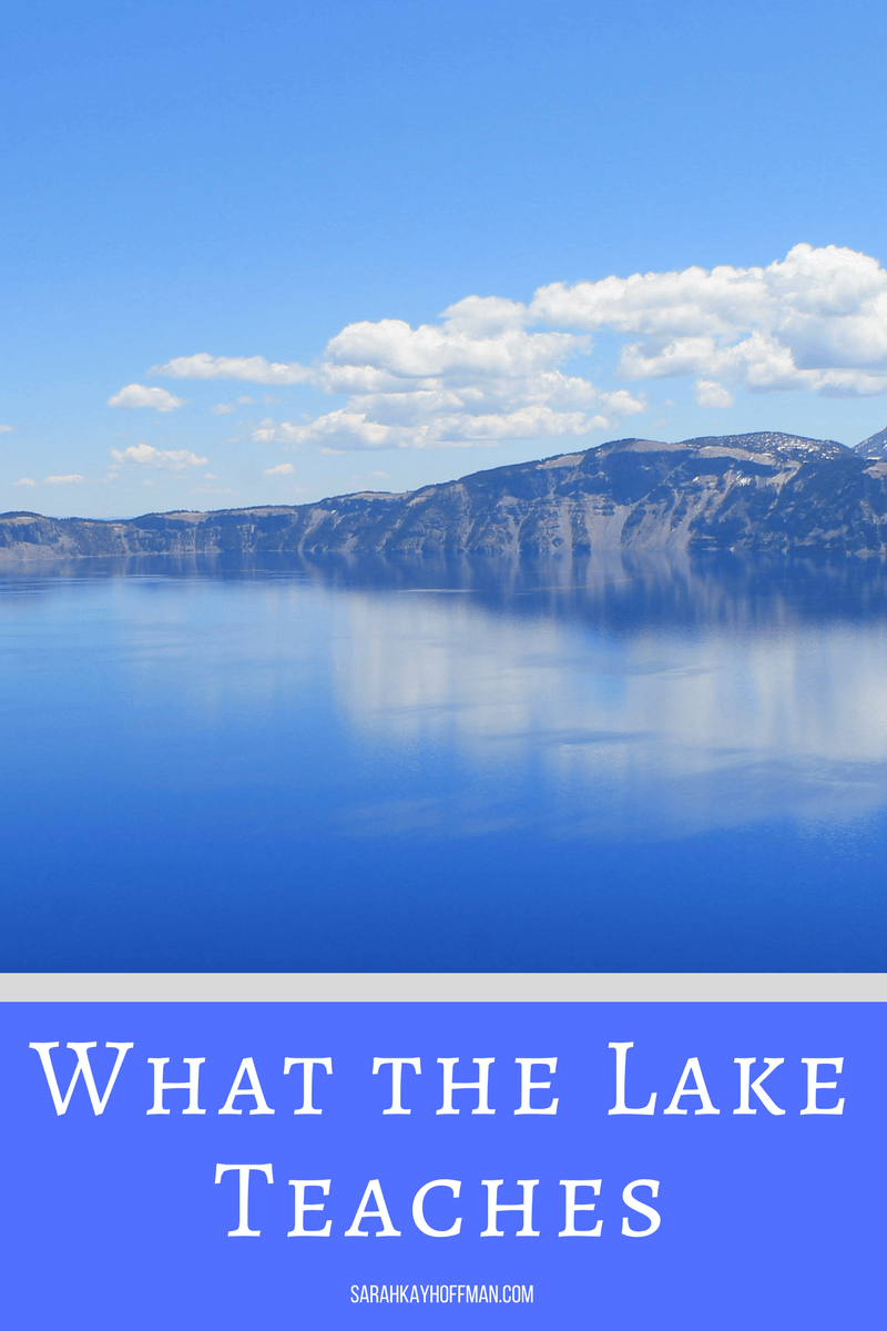 What the Lake Teaches sarahkayhoffman.com Present Over Perfect Virtual Book Club