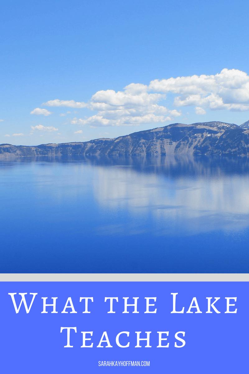 What the Lake Teaches sarahkayhoffman.com Present Over Perfect Virtual Book Club