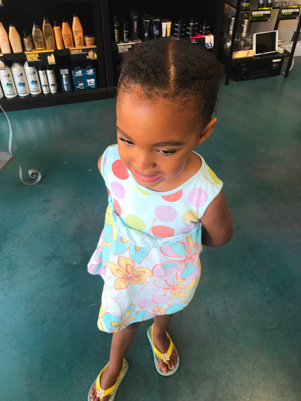 Hair Routine and Products sarahkayhoffman.com Raising children of another race Samarah