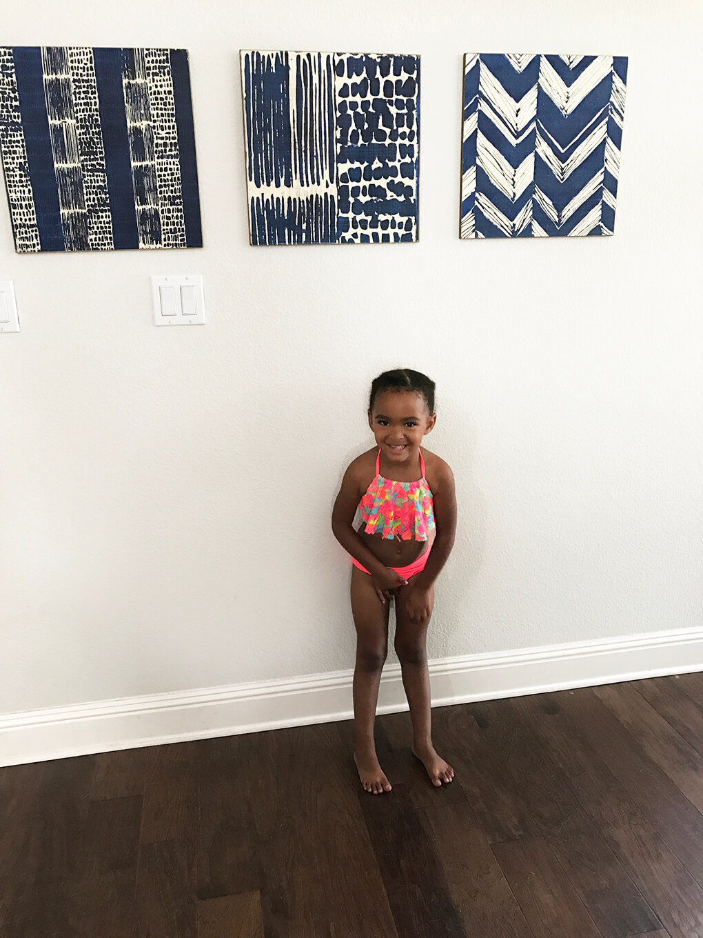 Happy Birthday, Samarah {This is Four} sarahkayhoffman.com Sam swimsuit