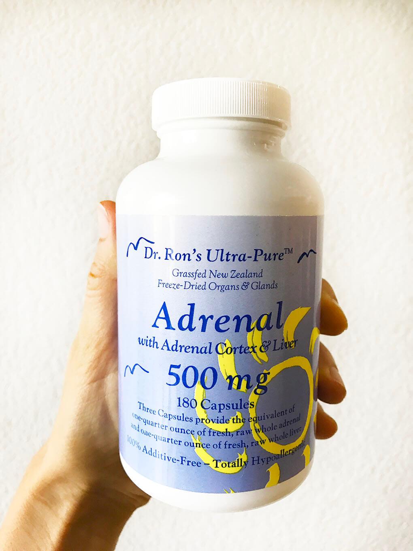 10 Gut and Hormone Supplements sarahkayhoffman.com Adrenal Glandular