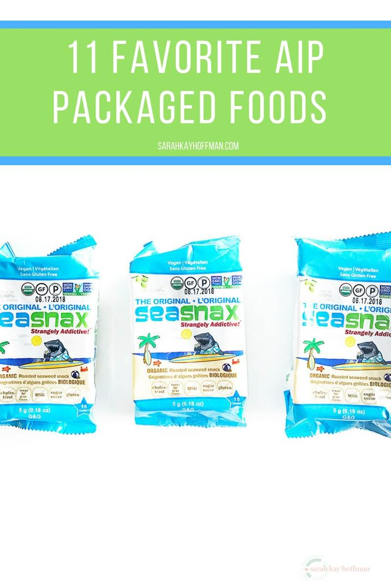 11 Favorite AIP Packaged Foods sarahkayhoffman.com