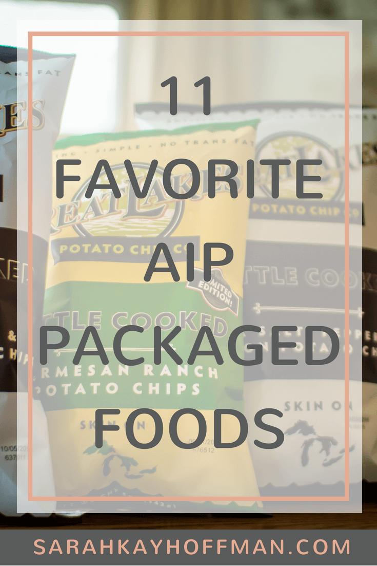 11 Favorite AIP Packaged Foods www.sarahkayhoffman.com