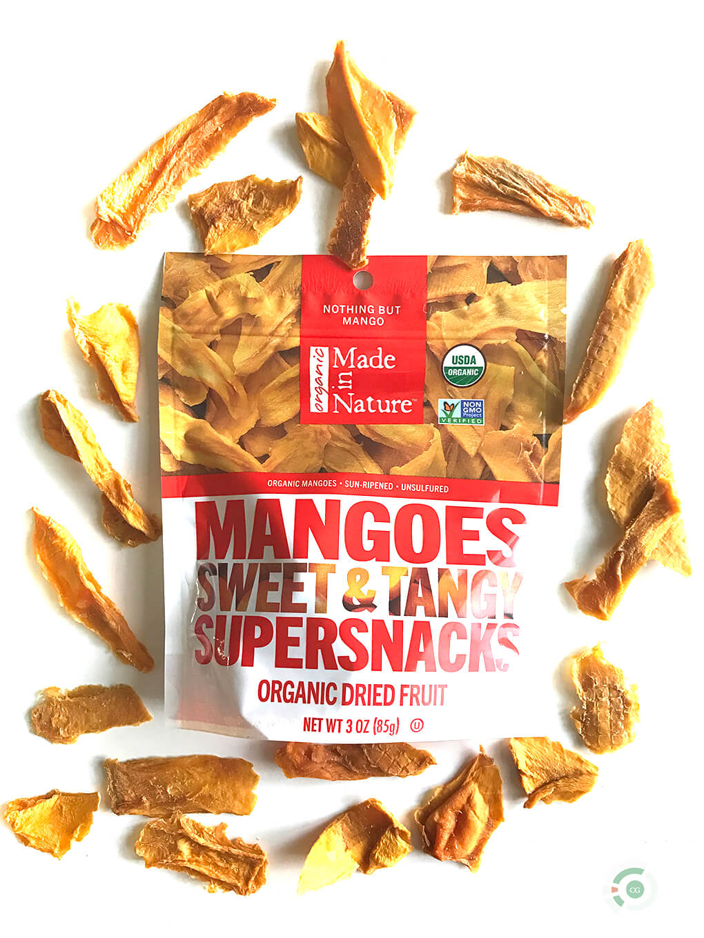 Certified Gutsy Made in Nature Dried Mangoes sarahkayhoffman.com vegan gluten free