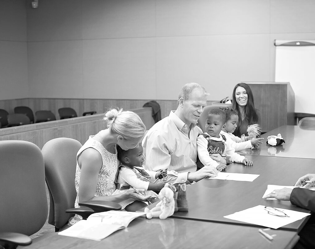 Family Built sarahkayhoffman.com Elisabeth BW Amiya Gotcha Day