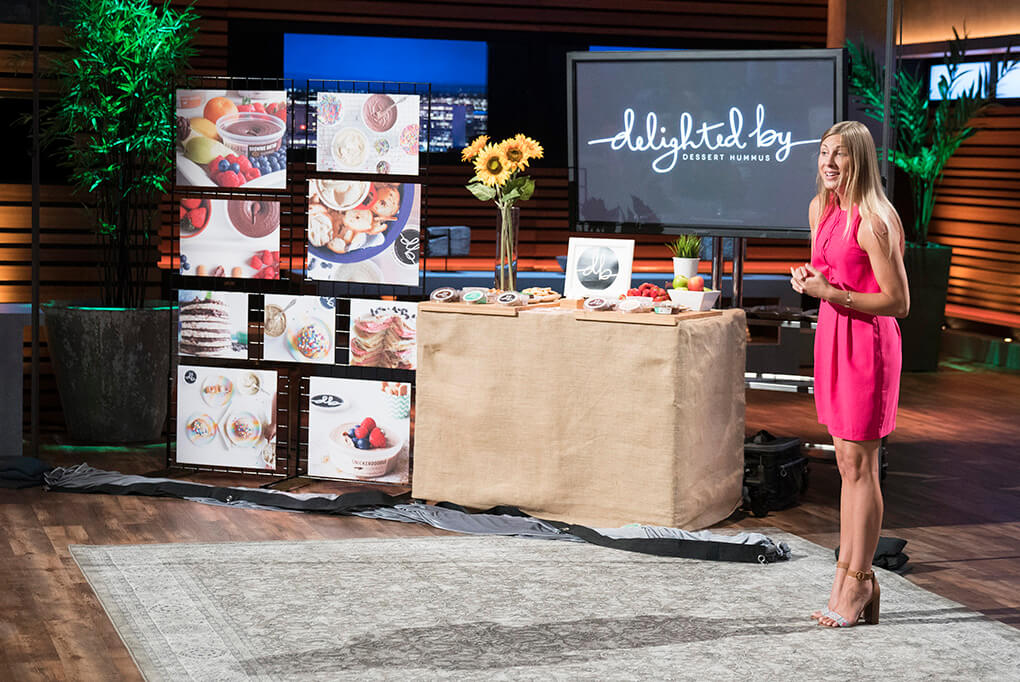 Finally Shark Tank sarahkayhoffman.com Delighted By Dessert Hummus ABC Shark Tank October 15 2017