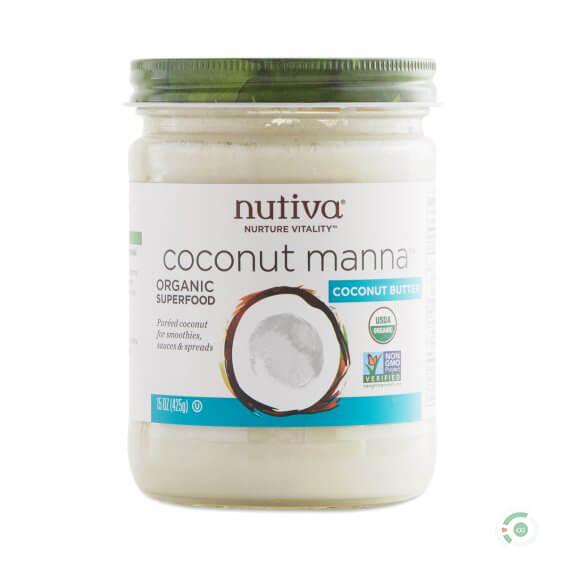 Nutiva Organic Coconut Manna Certified Gutsy sarahkayhoffman.com