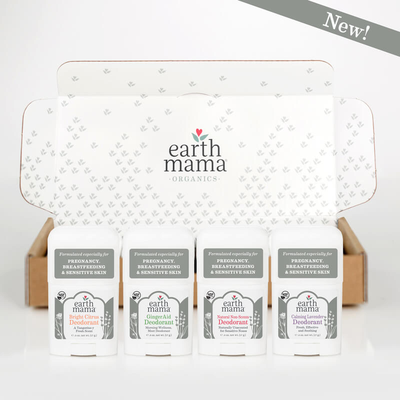 29 Holiday Gift Ideas for Babies and Toddlers sarahkayhoffman.com Earth Mama Deodorant 4-pack