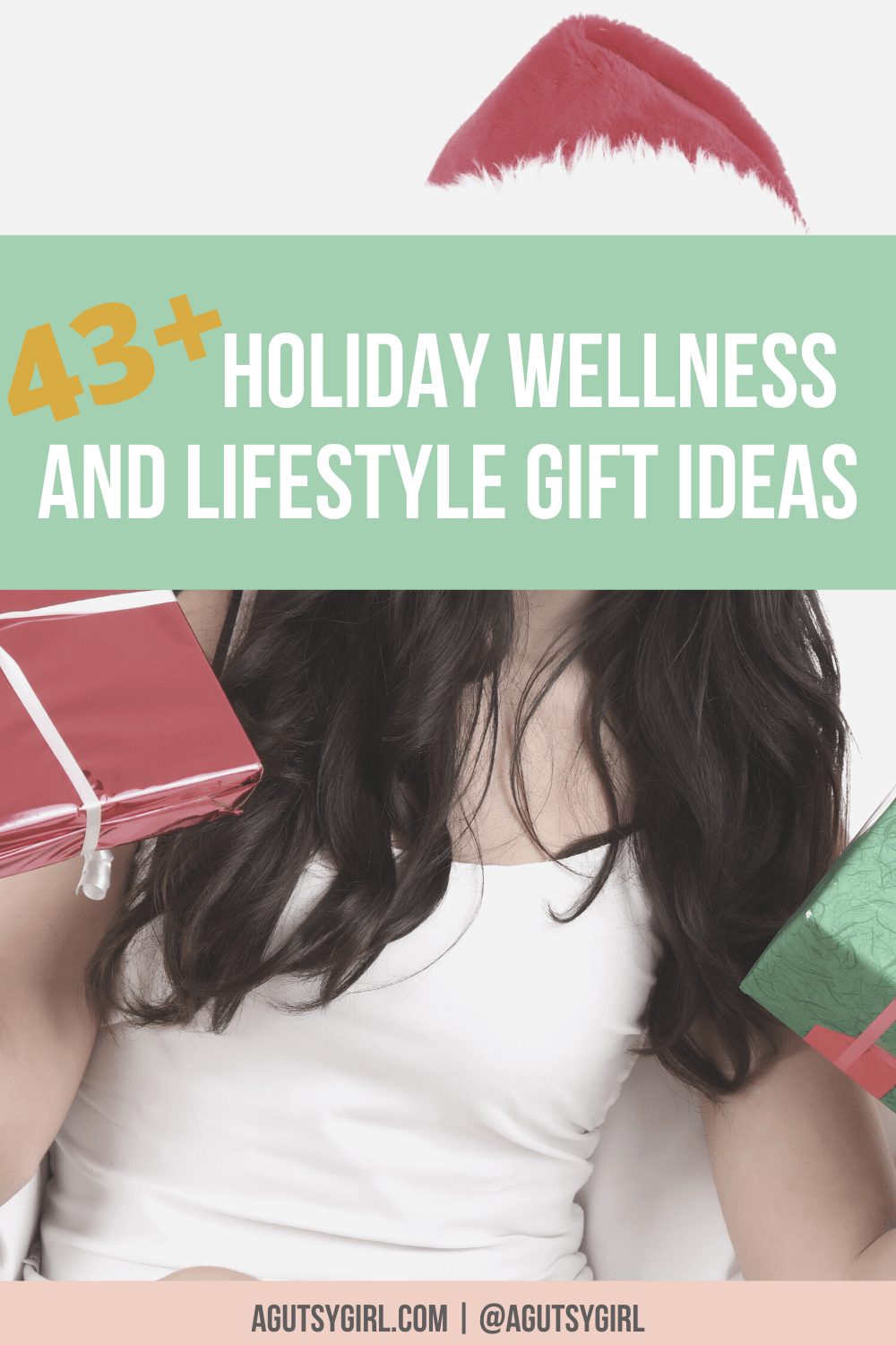 43 Holiday Wellness and Lifestyle Gift Ideas agutsygirl.com #guthealth #holidaygifts #holidaygiftideasforwomen #wellnessgifts