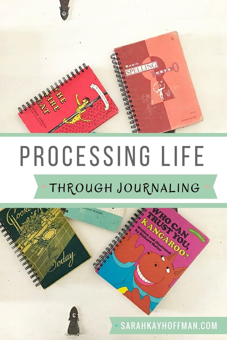 Processing Life Through Journaling sarahkayhoffman.com Attic Journals Emotional