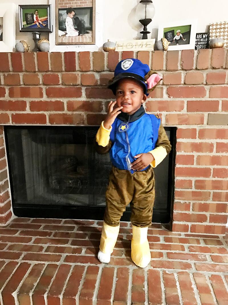 Toddler Gut Issues sarahkayhoffman.com Isaiah Paw Patrol Halloween
