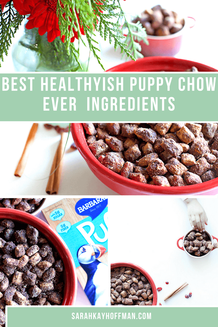 Best Healthyish Puppy Chow Ever sarahkayhoffman.com