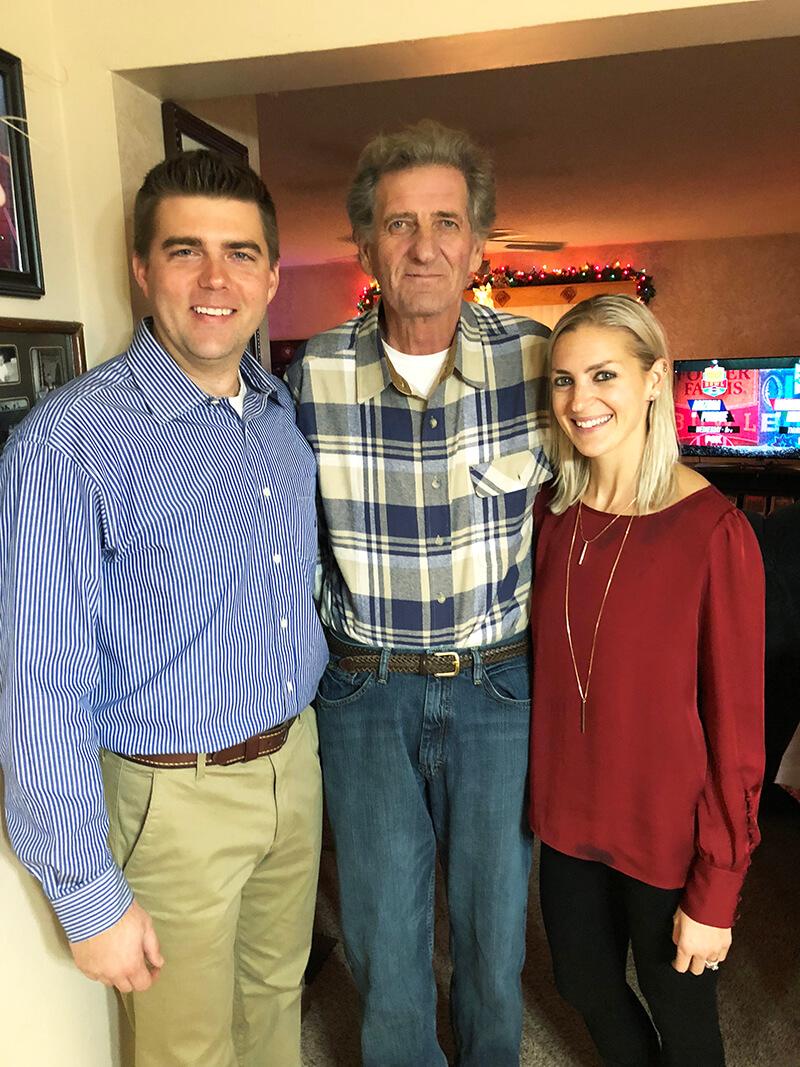 December 2017 Catch Up Over Bone Broth sarahkayhoffman.com JJ, Dad, SKH