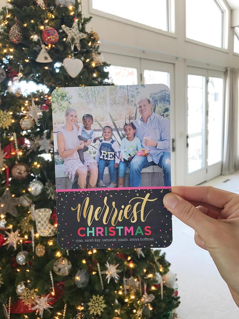 December 2017 Catch Up Over Bone Broth sarahkayhoffman.com Merry Christmas card