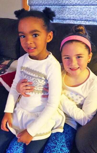 December 2017 Catch Up Over Bone Broth sarahkayhoffman.com Samarah and Sophie