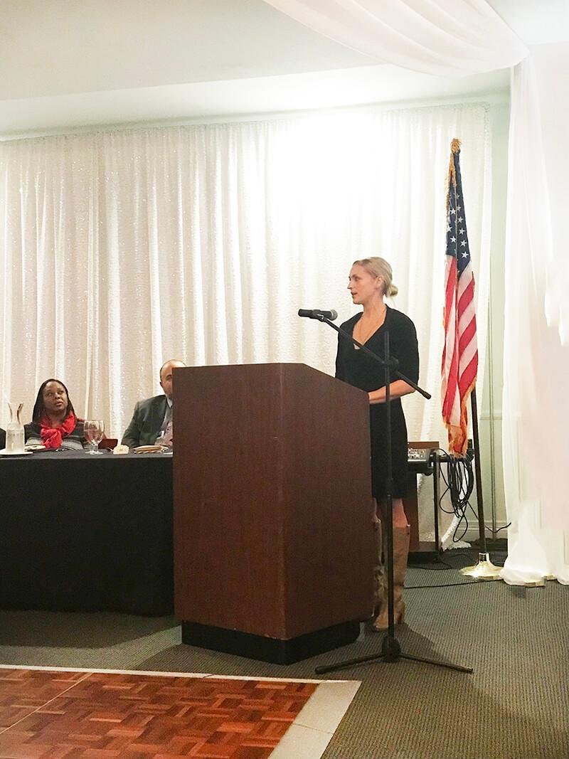Difficult Times sarahkayhoffman.com Sarah Kay Hoffman speaking San Joaquin County Holiday Foster event HSA