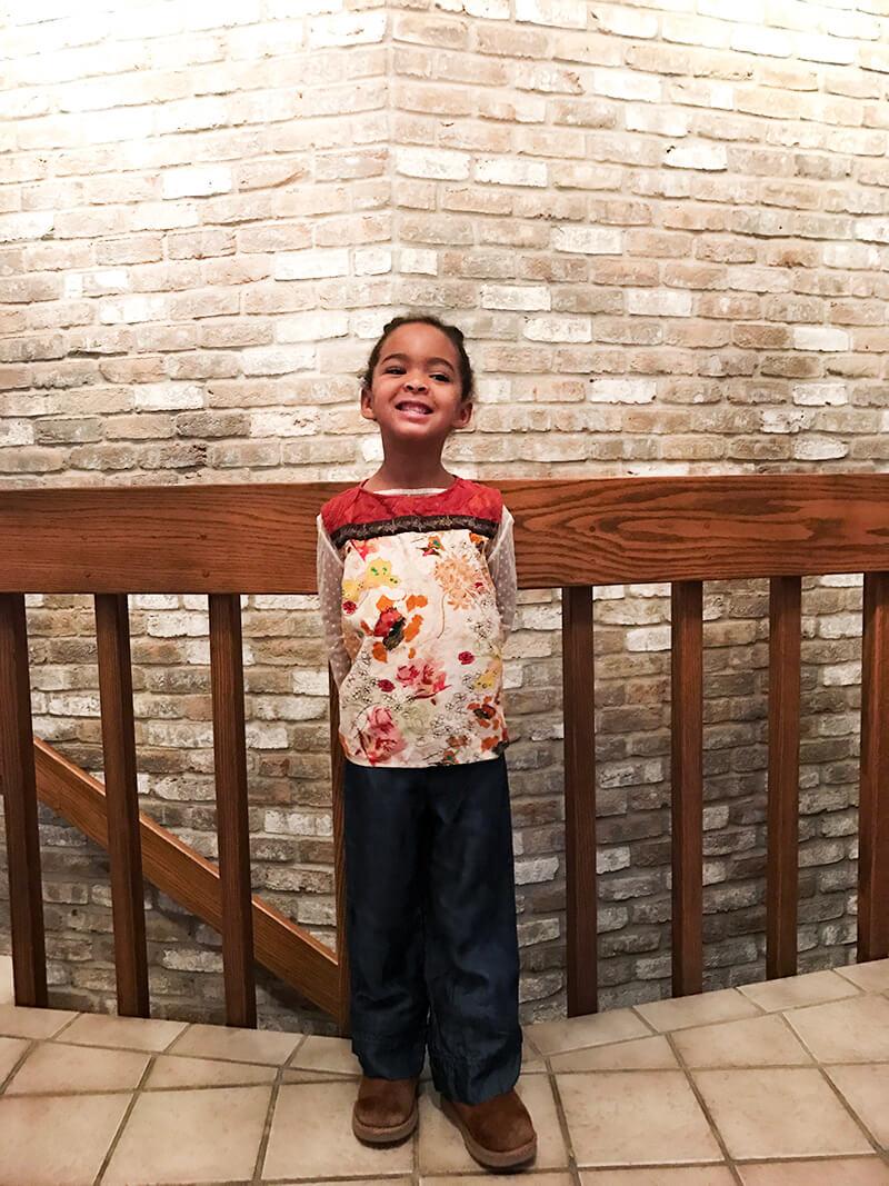 Beginnings are Scary sarahkayhoffman.com Samarah first day of Montessori Minnesota preschool home