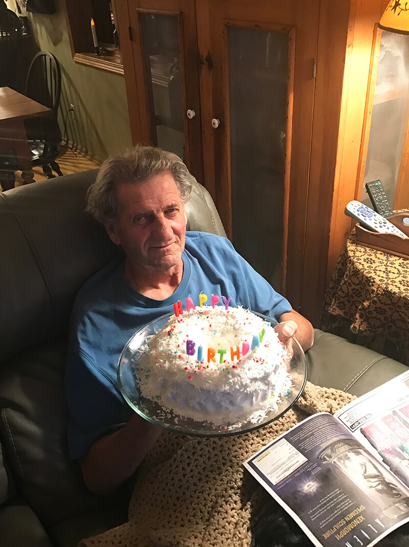 Chocolate Shake sarahkayhoffman.com Dad birthday cake 66