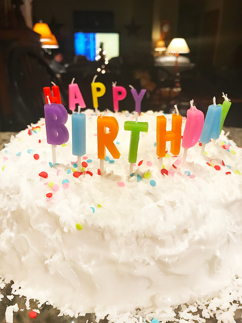 Chocolate Shake sarahkayhoffman.com happy birthday letters cake dad 66 2018