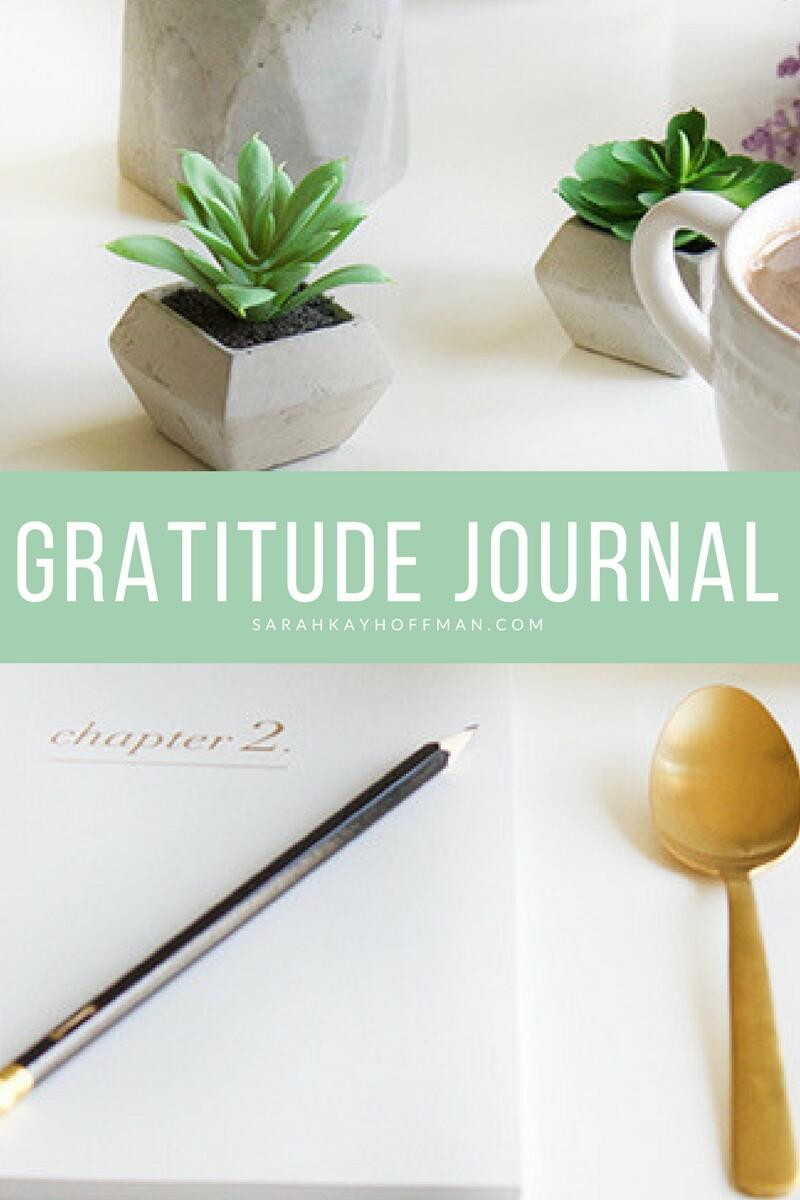 Gratitude Journal sarahkayhoffman.com