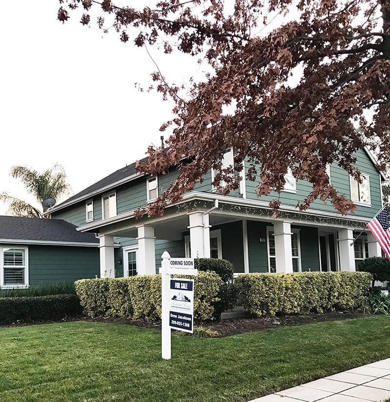 House and Home sarahkayhoffman.com Coming soon sign California