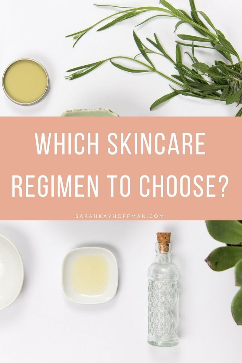 Which Skincare Regimen to Choose? sarahkayhoffman.com Beautycounter safer skincare #skincare #saferskincare #antiaging #acne