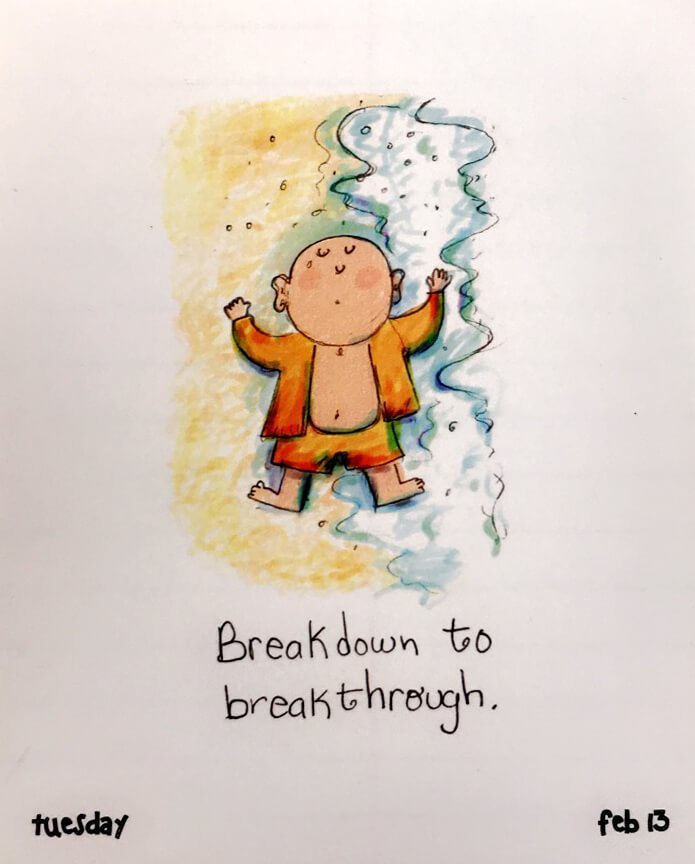 Breakdown to Breakthrough www.sarahkayhoffman.com quote quotes change
