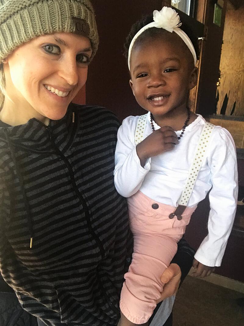 Embracing Motherhood www.sarahkayhoffman.com SKH Amiya Daily Grind 35th birthdaay