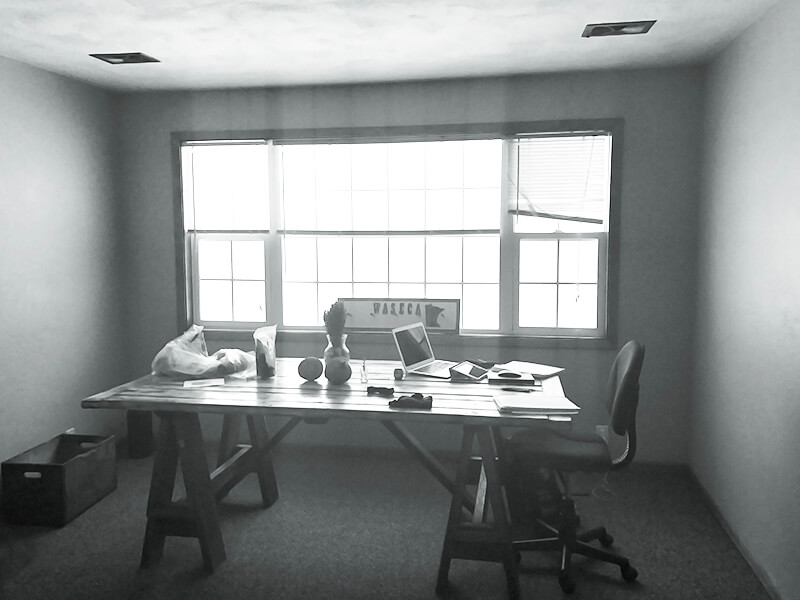 Firsts www.sarahkayhoffman.com new office studio