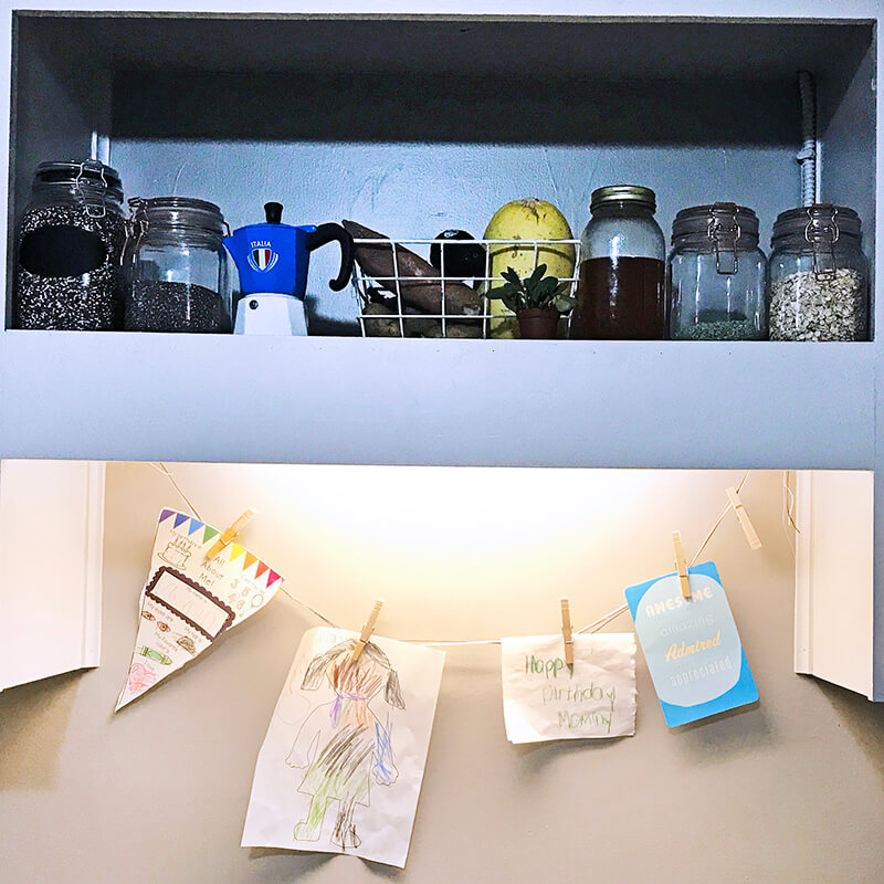 Kitchen Nook www.sarahkayhoffman.com decorating in small spaces DIY