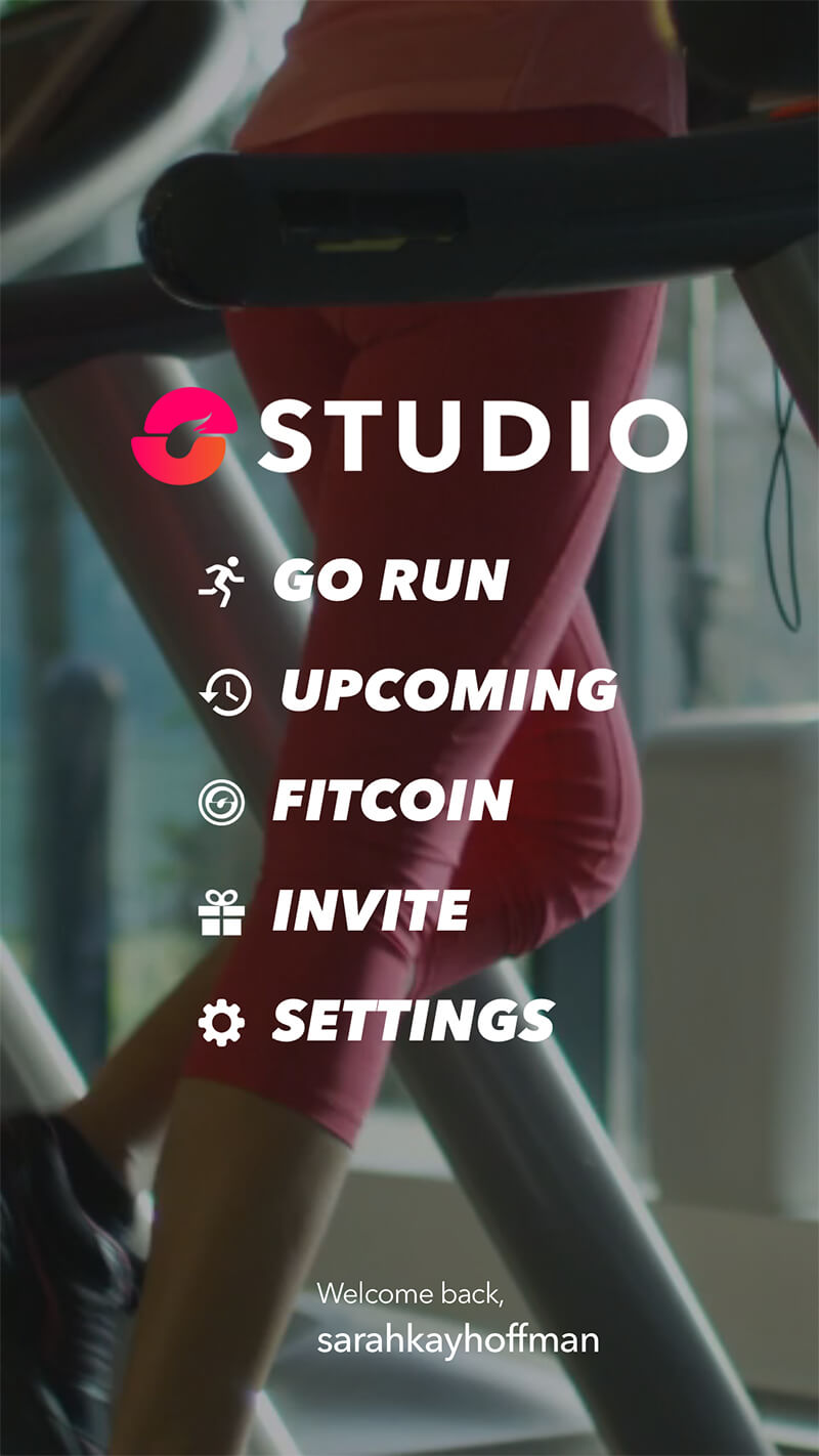 Studio Run App Review www.sarahkayhoffman.com runner running fit