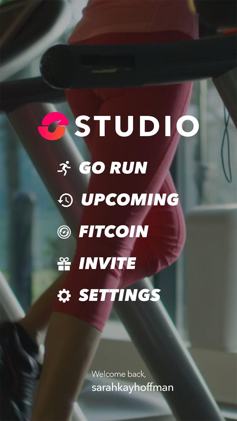 Studio Run App Review www.sarahkayhoffman.com runner running fit