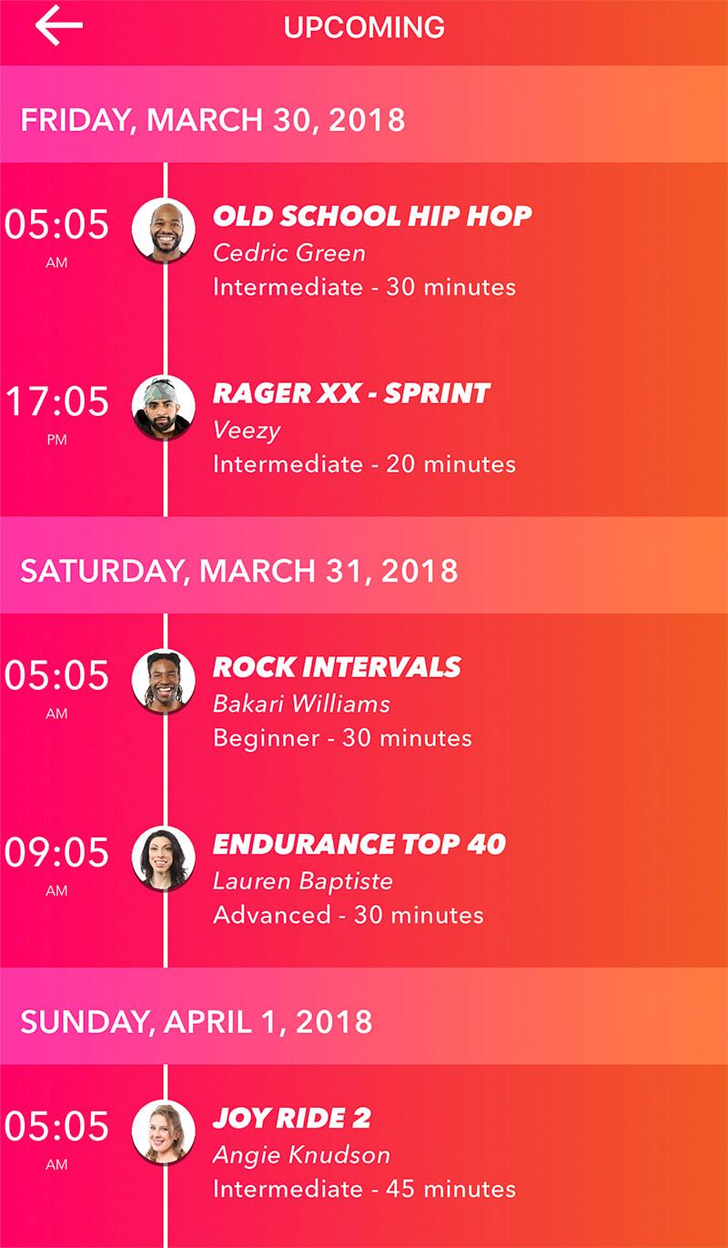Studio Run App Review www.sarahkayhoffman.com runner running upcoming schedule