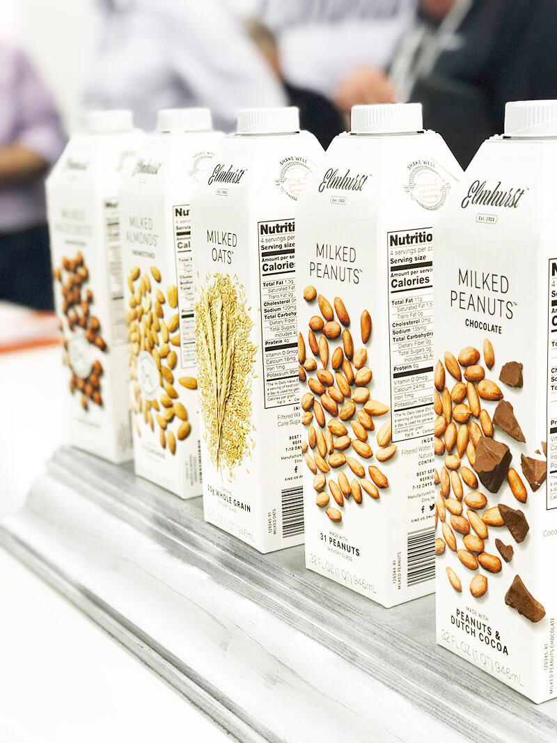 Top 29 2018 Expo West Finds www.sarahkayhoffman.com Elmhurst Milked plant-based milk