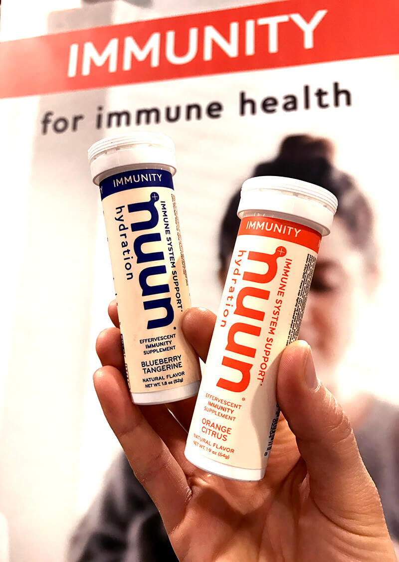 Top 29 2018 Expo West Finds www.sarahkayhoffman.com NUUN Immunity athletic recovery