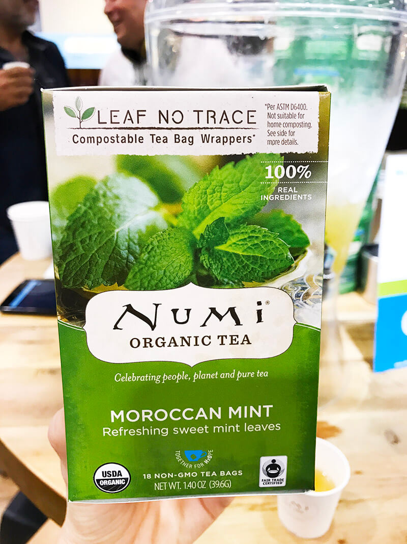 Top 29 2018 Expo West Finds www.sarahkayhoffman.com Numi Organic Tea Moroccan Mint