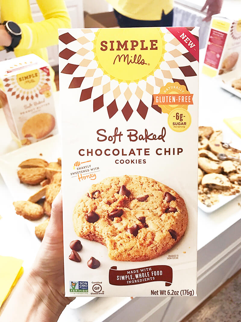 Top 29 2018 Expo West Finds www.sarahkayhoffman.com Simple Mills Soft Baked Chocolate Chip Cookies paleo