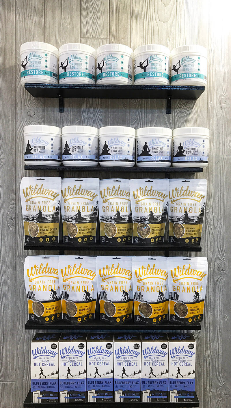 Top 29 2018 Expo West Finds www.sarahkayhoffman.com Wildway Foods Smoothie Mix