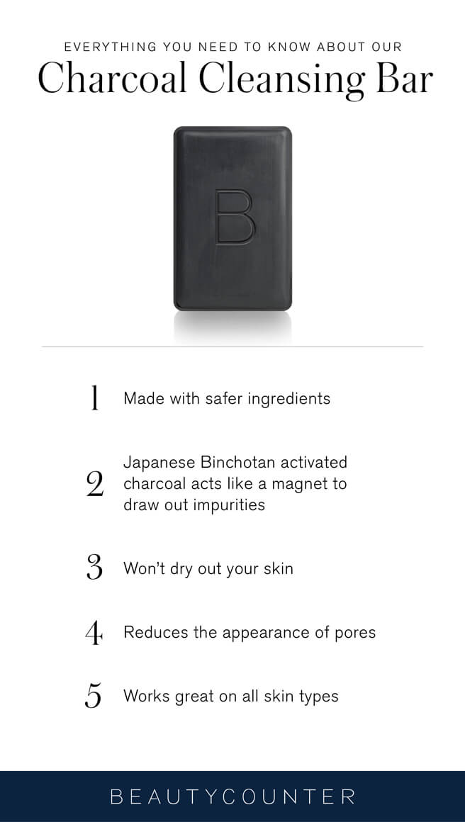 What is Activated Charcoal www.sarahkayhoffman.com Beautycounter Charcoal Bar