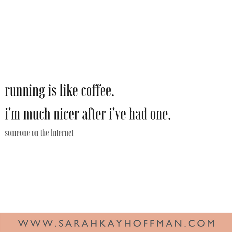 April 2018 Catch Up Over Bone Broth www.sarahkayhoffman.com running and coffee