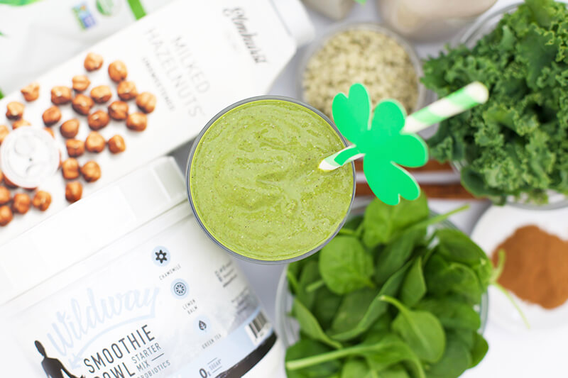 Boosted Green Smoothie www.sarahkayhoffman.com Dairy free soy free
