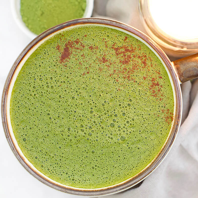 Can vs Meant To www.sarahkayhfofman.com adaptogenic matcha latte