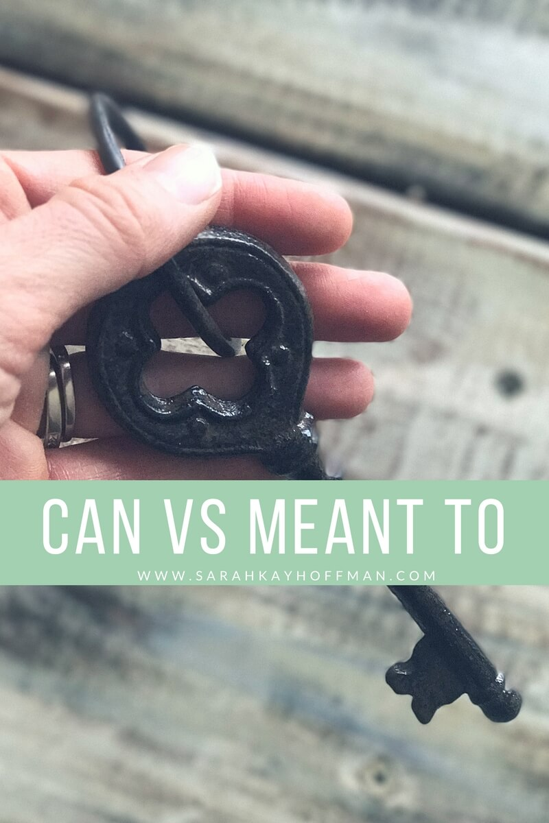 Can vs Meant To www.sarahkayhoffman.com